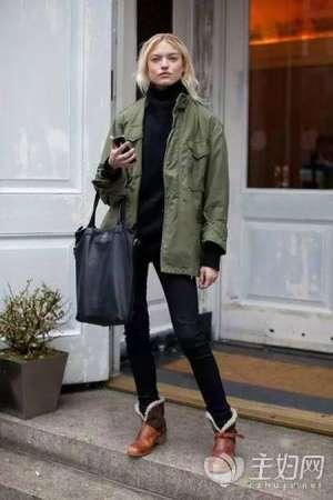 资讯【毛衣搭配图片】高领毛衣搭配轻易打造冬季气质装扮